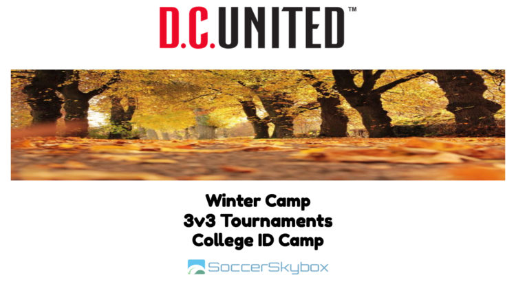 D.C. United Camps & Training Programs - Winter 2017-2018